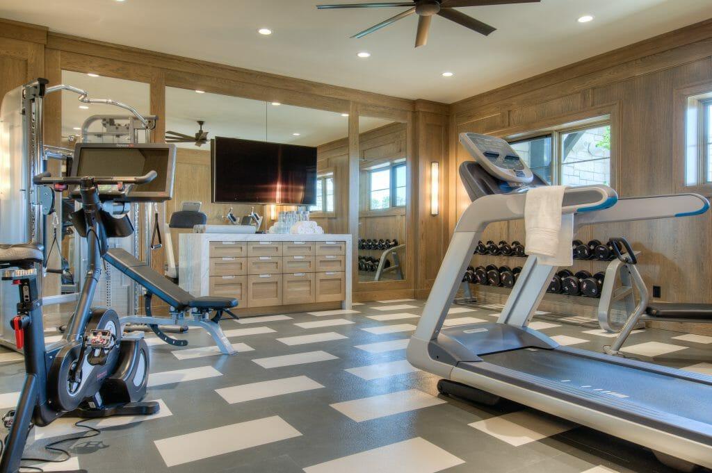 Ultimate makeover michigan integrator helps home gym transform